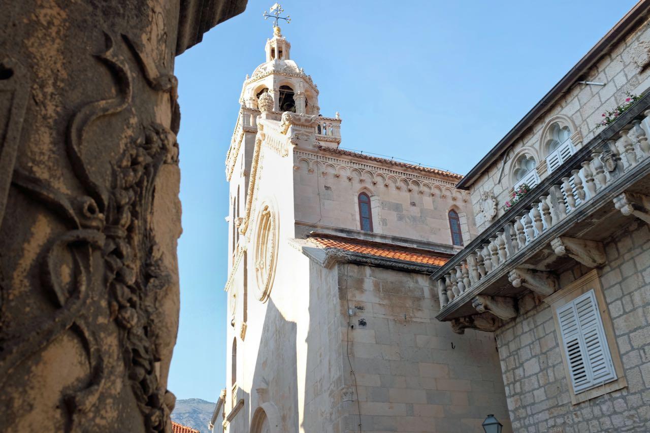 Sankt Markus Kathedrale Korcula