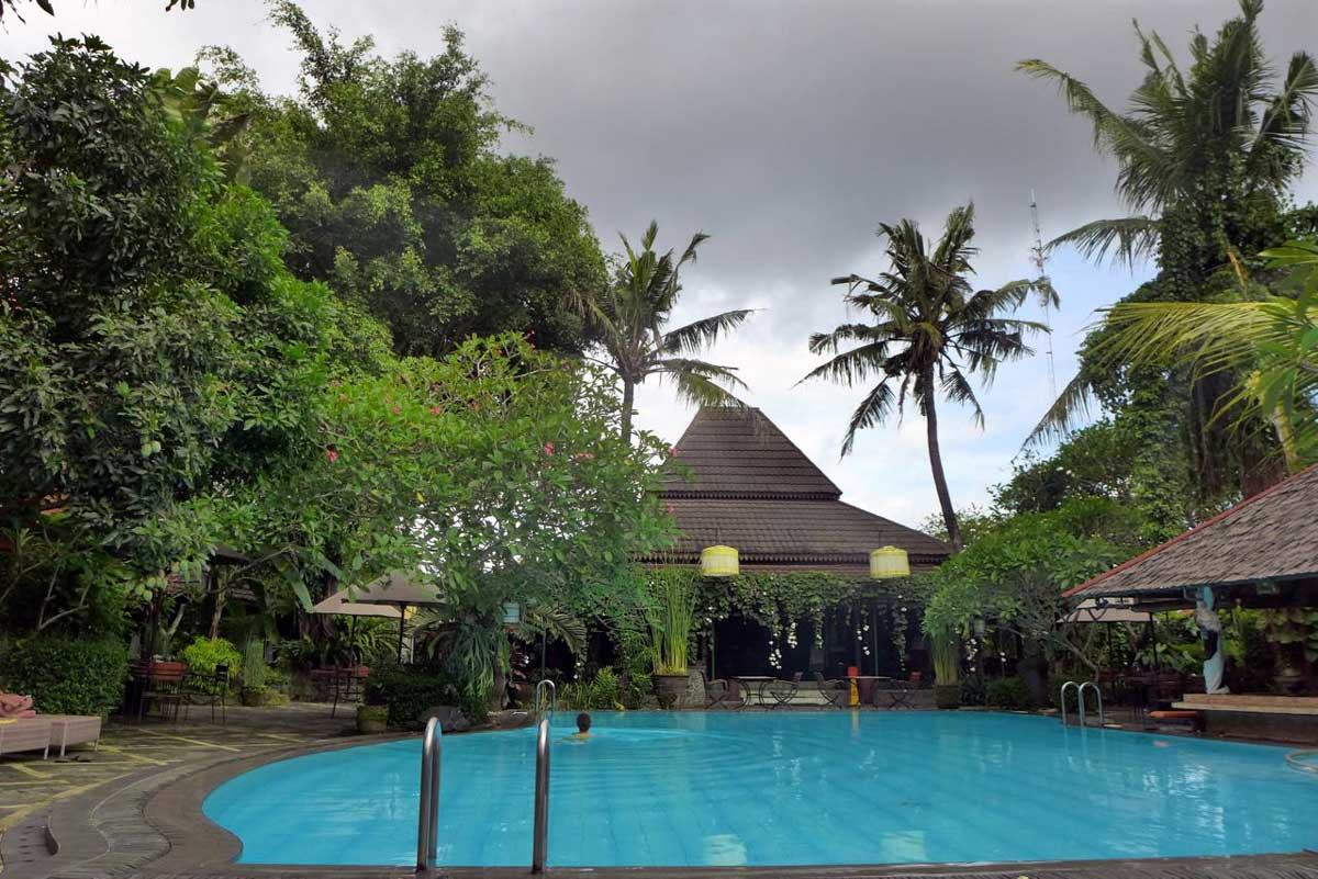 Pool & Garten Dusun Jogja Village Inn, Yogyakarta
