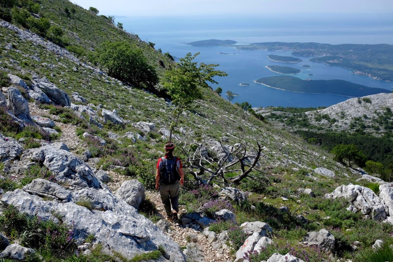 Wanderung Sveti Ilja Peljesac