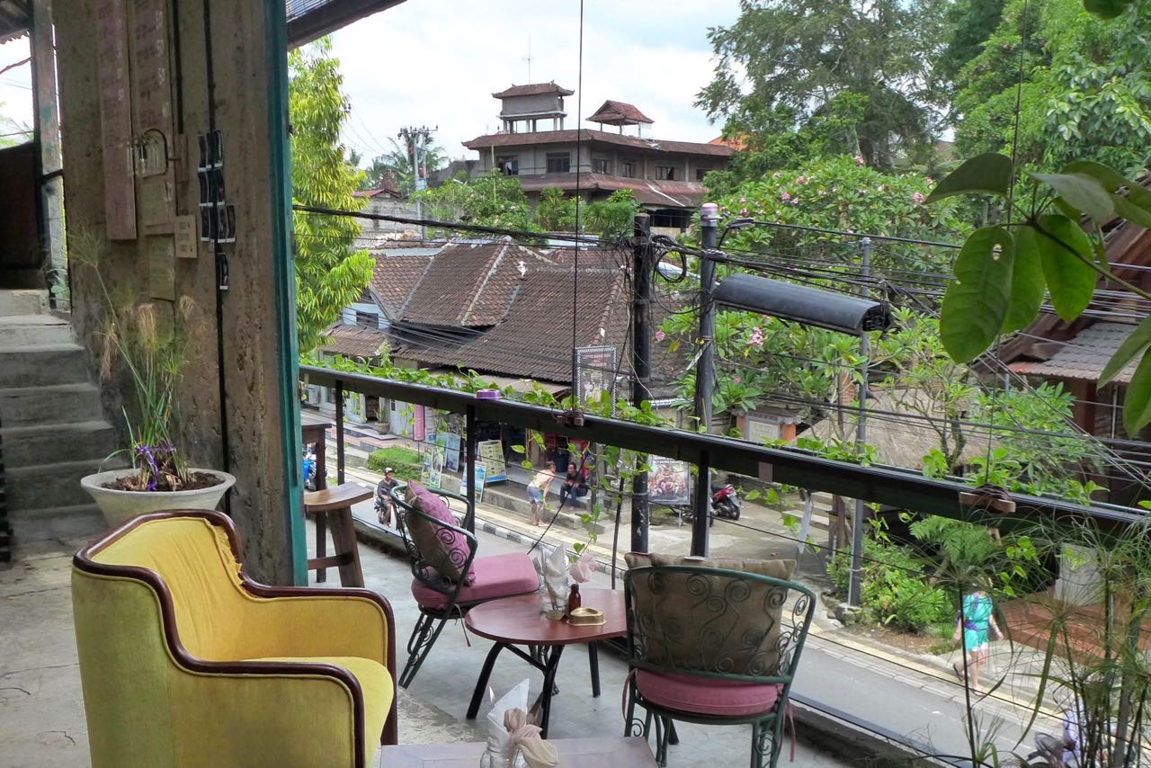 Guter Kaffee im Lazy Cat Cafe Ubud
