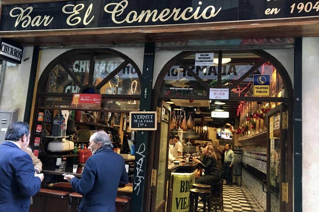 Bar El Comercial Sevilla