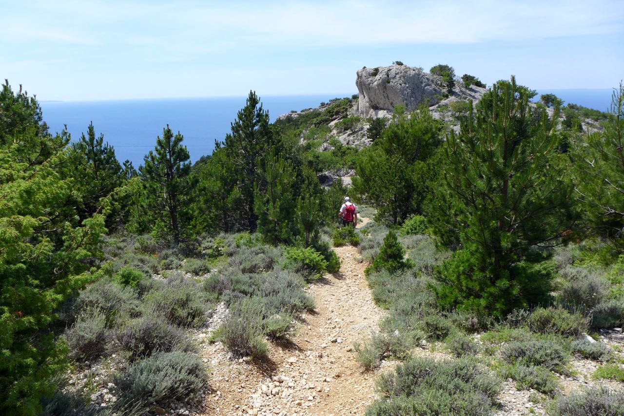 Schöne Wanderung zur Plava Grotta, Lubenice
