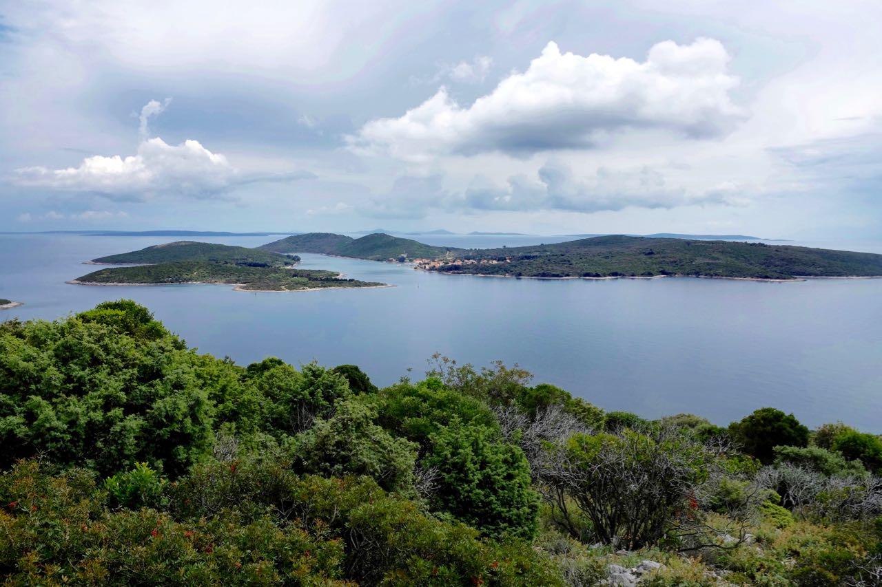 Wandern mit Aussicht, das Inselarchipel von Losinj