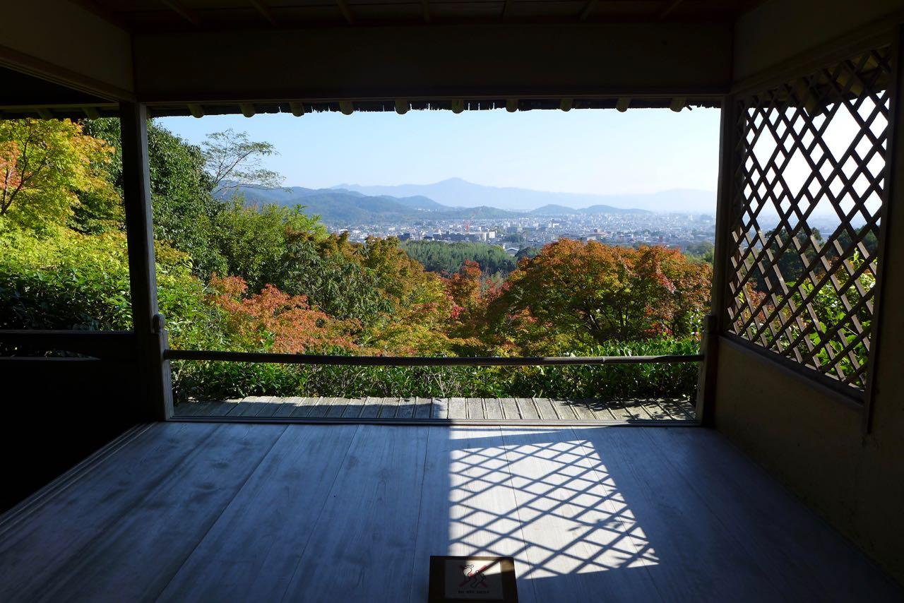 Ausblick Okochi Sanso Villa