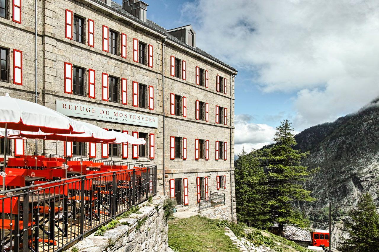 Stilvolles Berghotel ©Terminal Neige - Refuge du Montenvers