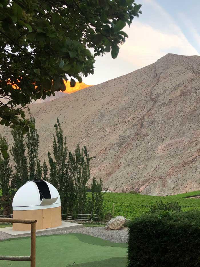 Observatorium im Rifugio Misterio de Elqui