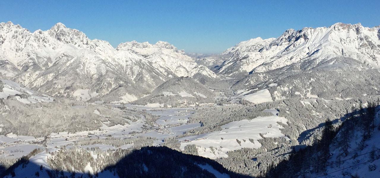 'Home of Lässig' die Skiorte Saalbach-Hinterglemm Leogang und Fieberbrunn