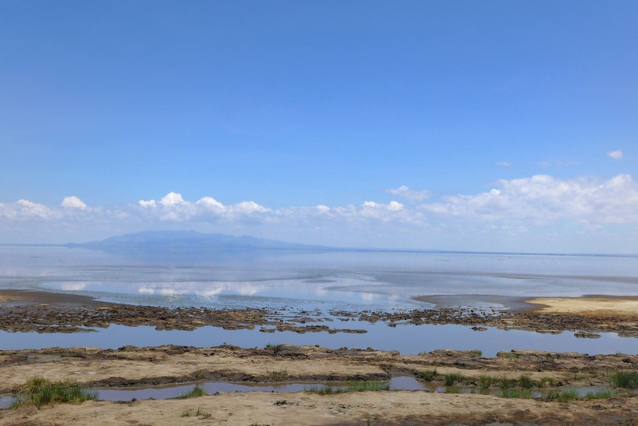 Der Lake Manyara See im November