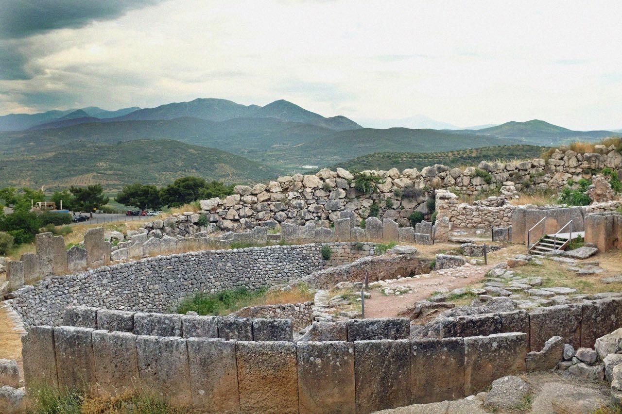 Die Schachtgräber der Könige von Mykene, Peloponnes
