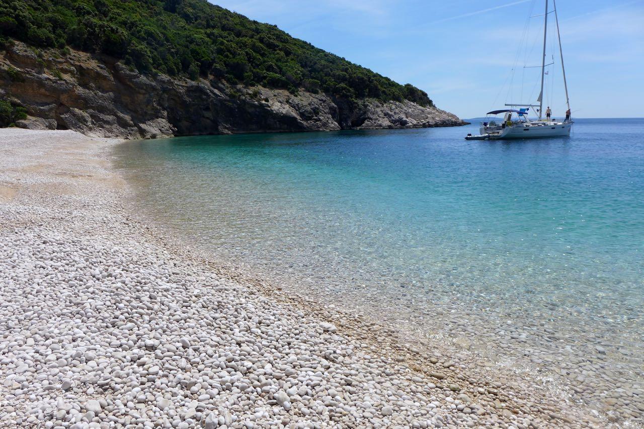 Nur zu Fuß oder mit dem Boot erreichbar, Uvala Zanja Lubenice
