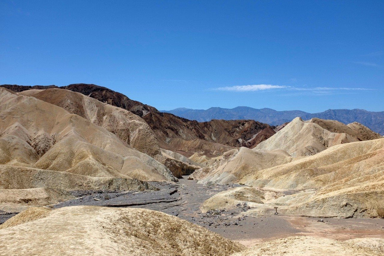 Zabriskie Point Death Valley im Mosaic Canyon