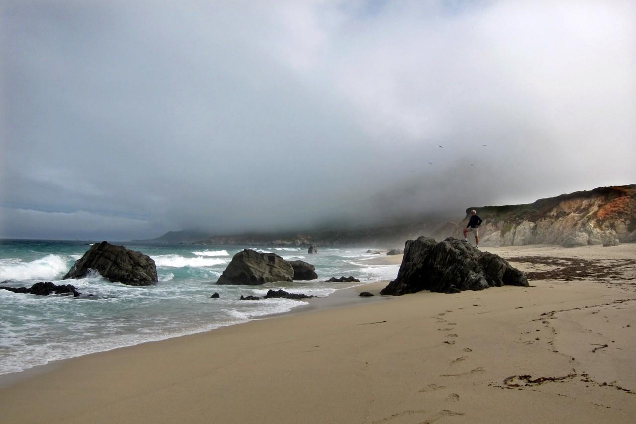 Garrapata State Park Beach, Highway No 1