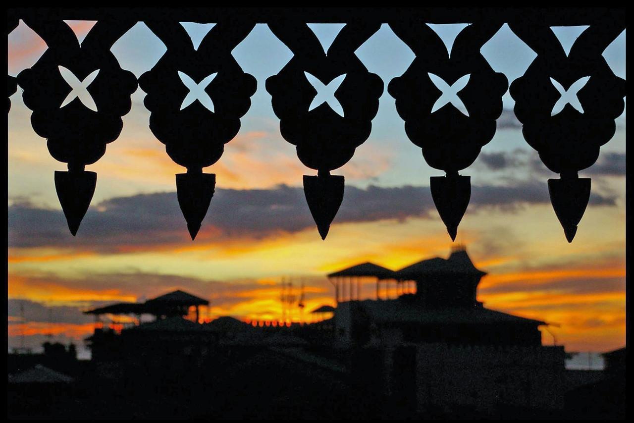 Sonnenuntergang vom Emerson Spice Stone Town