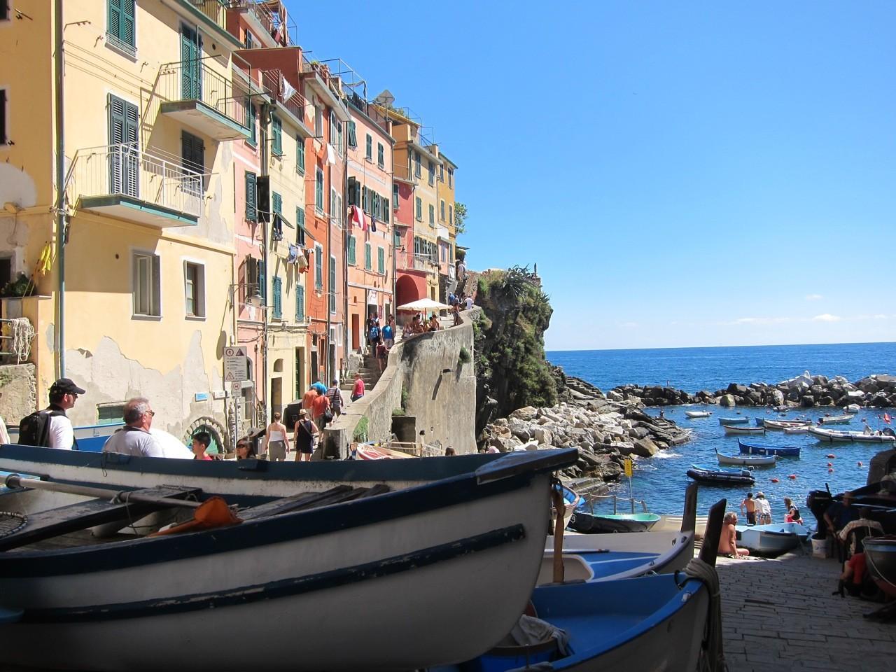 Riomaggiore, Cinque Terre Ligurien