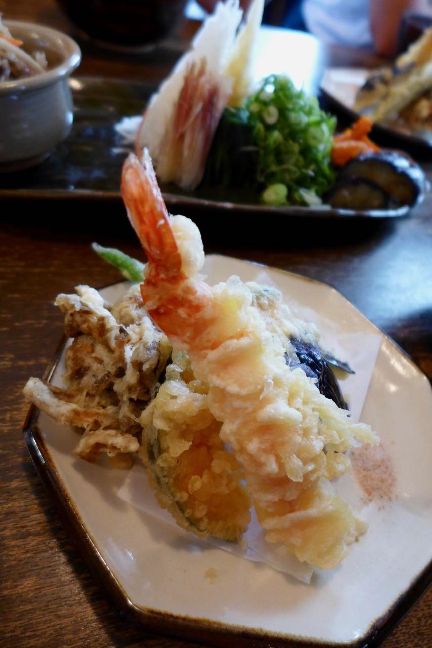 Ramen und Tempura Omen Restaurant Tipp Kyoto