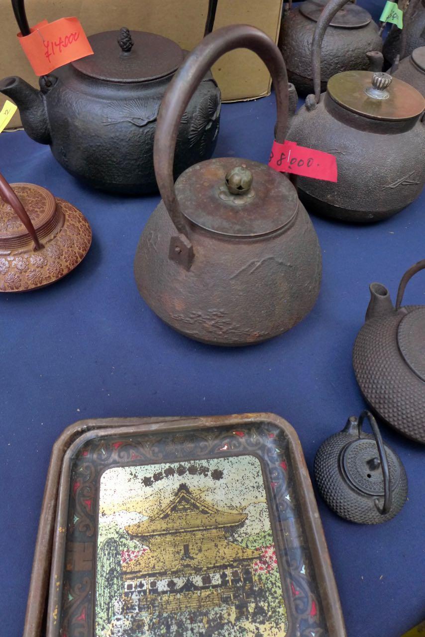 Antikes und Kunsthandwerk Flohmärkte in Kyoto
