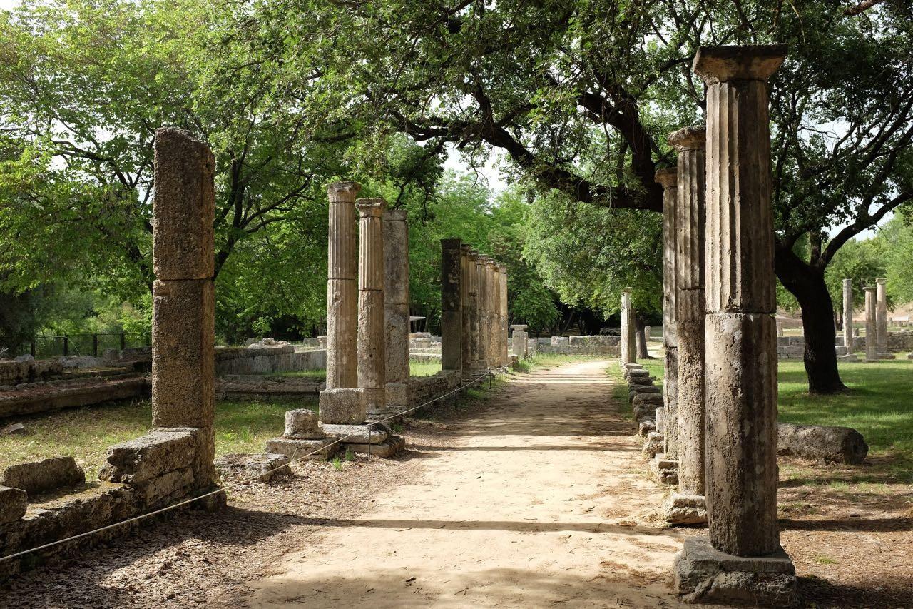 Kultstätte Olympia, Peloponnes