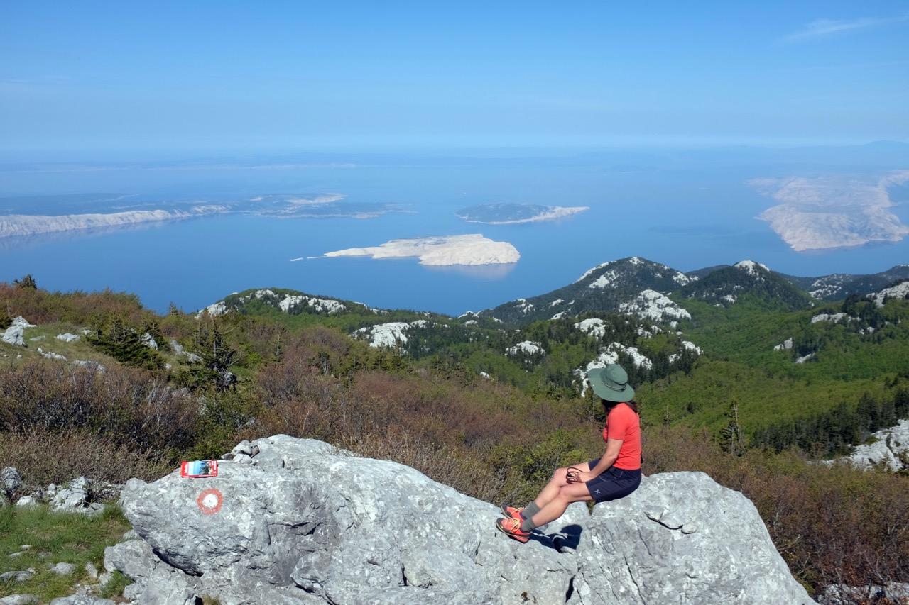 Wandern durchs Karstgebirge Velebit Kroatien