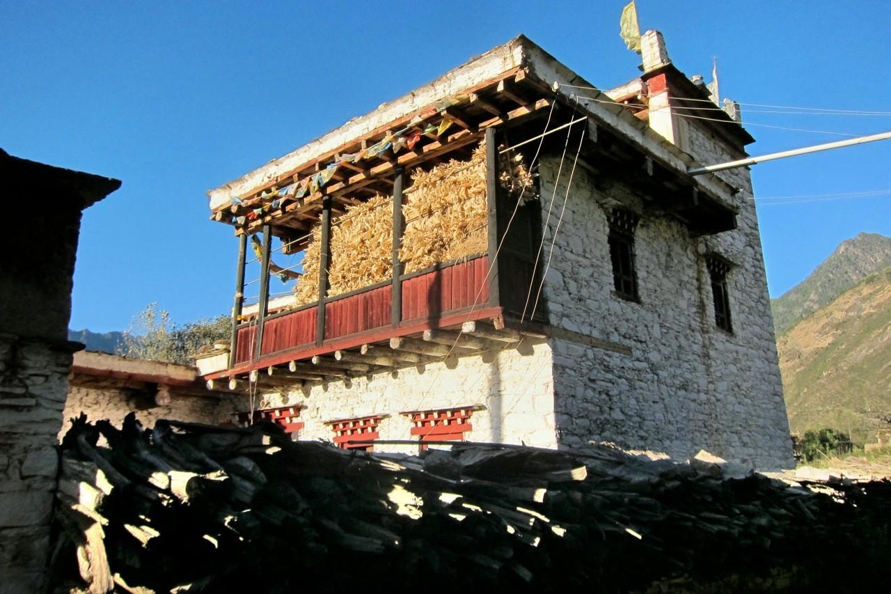 Zhonglu typischer Baustil