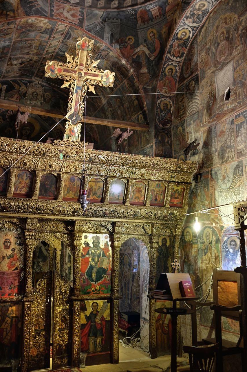 Absolut sehenswert, Kloster von Dekoulou nahe Limeni