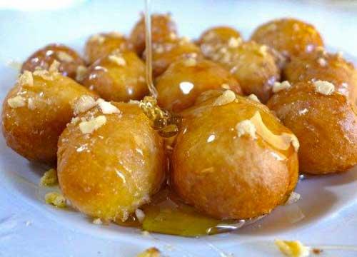 Istanbul süßer Snack