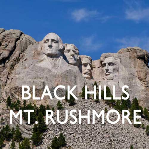 Black Hills Mt. Rushmore USA Reiseblog