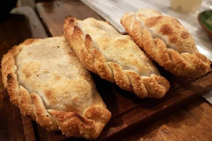 Empanadas für die Wanderung