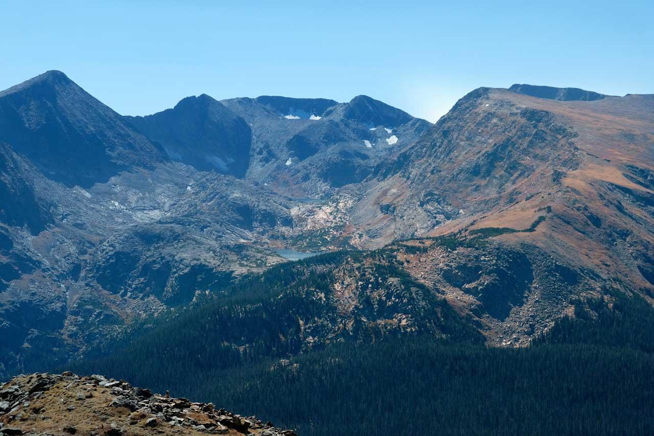 Ausblick von der Trail Ridge Road, Rocky Mountain Nationalpark