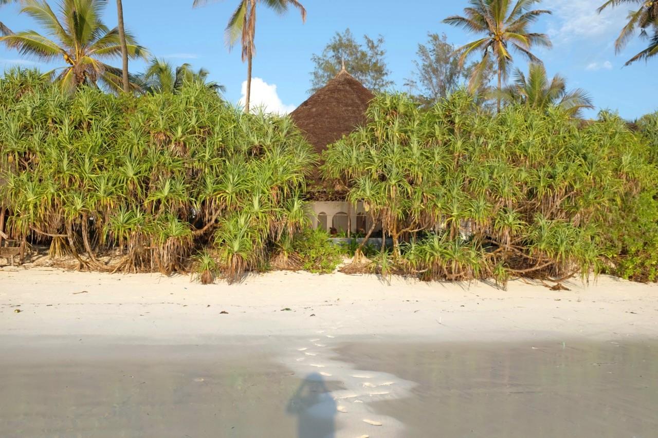 Das Haus der Honeymoon Suite im Matemwe Beach Village