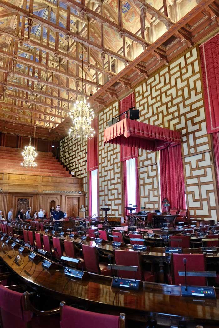 Führung durchs Stockholmer Rathaus
