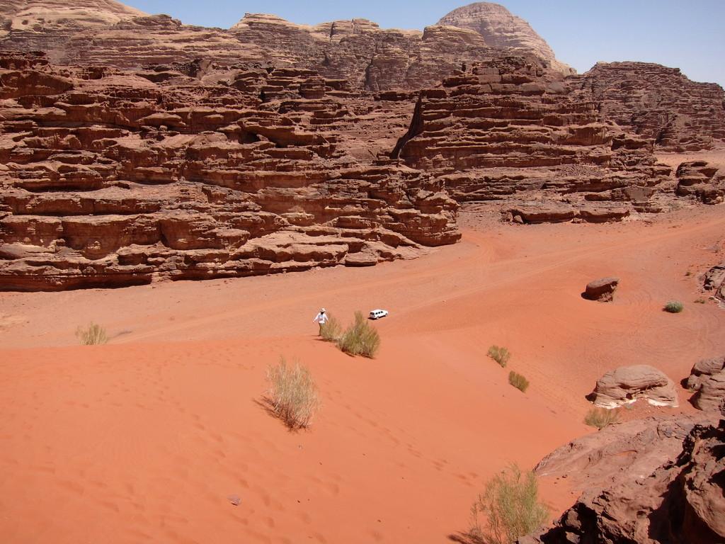 Rote Düne, Wadi Rum Jordanien