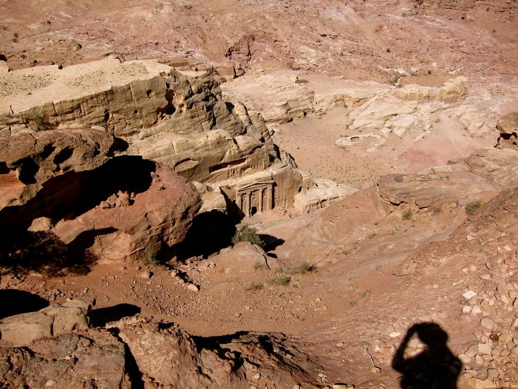 Wanderung zum Großen Opferplatz in Petra