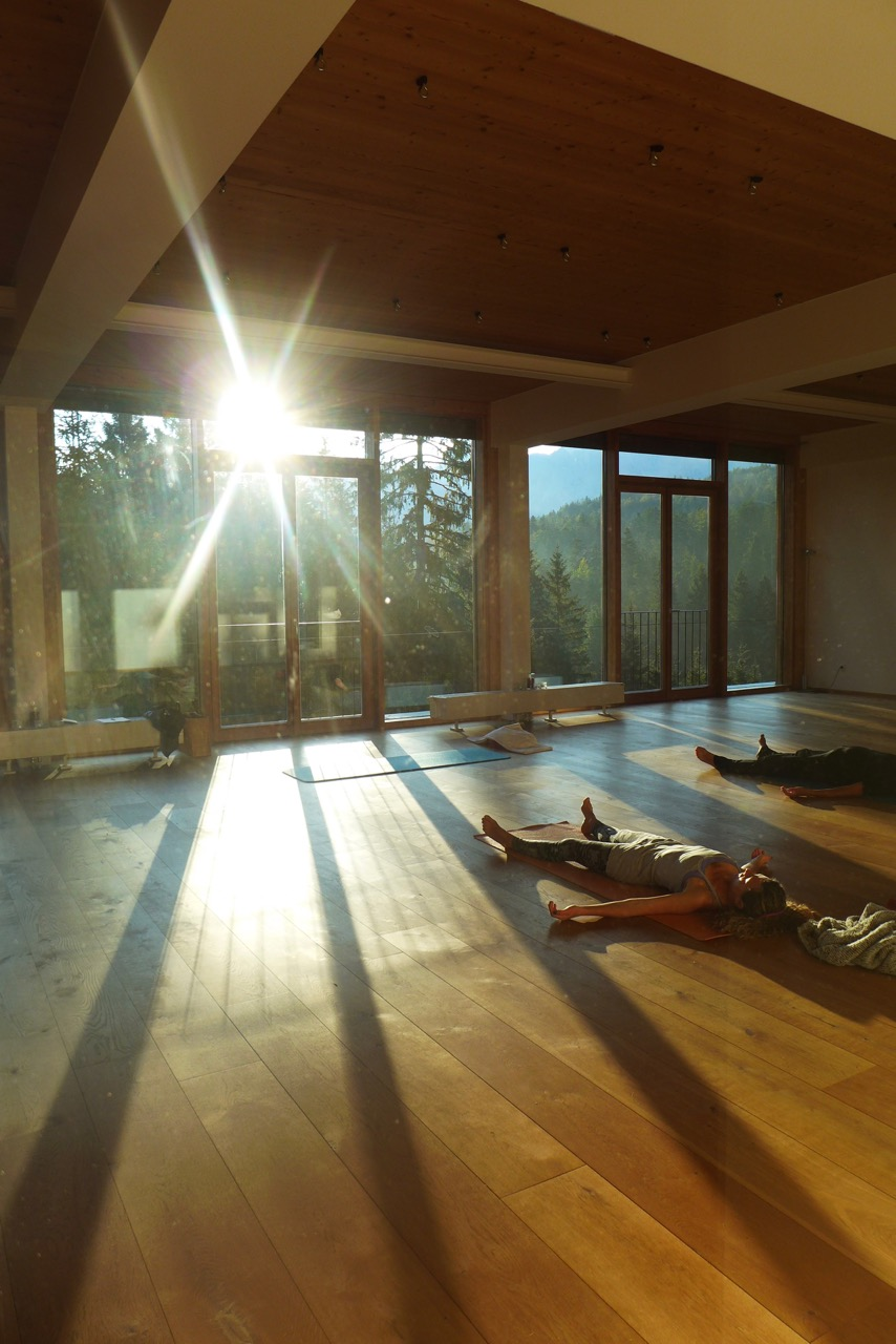 Kranzbach Hotel Morning Yoga