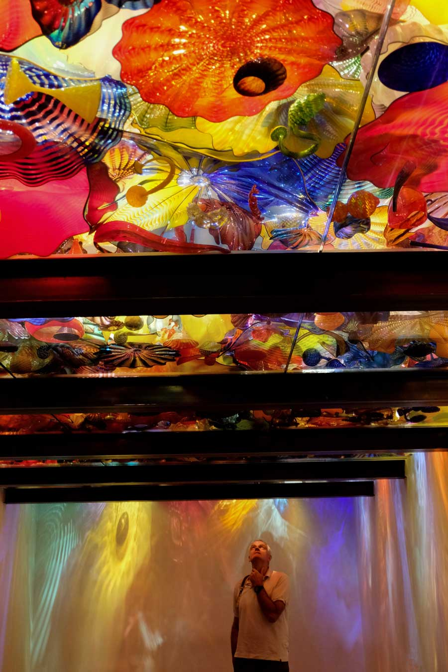 Im Farbenrausch, 'Chihuly Garden and Glass' Seattle