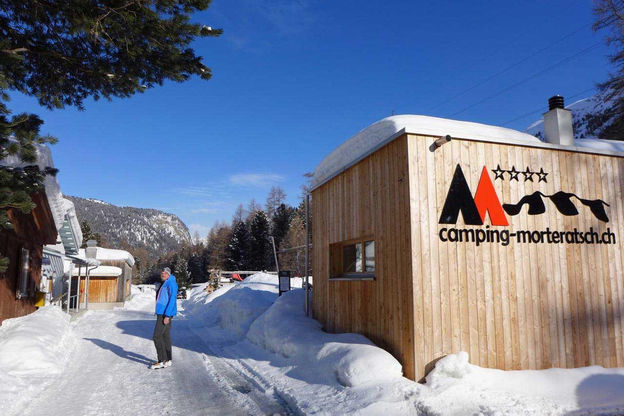 Restaurant im Camping Morteratsch