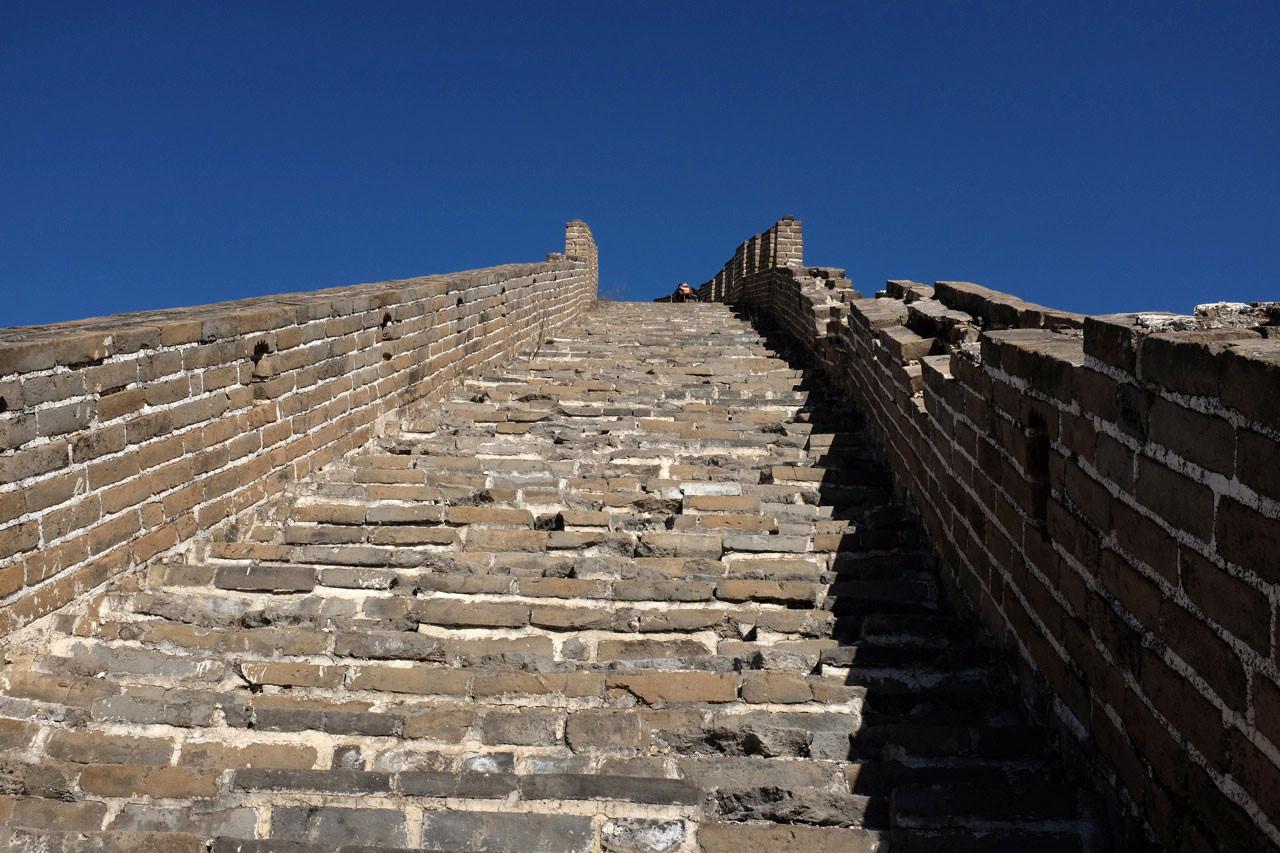 Große Mauer Huanghuacheng ohne Touristen