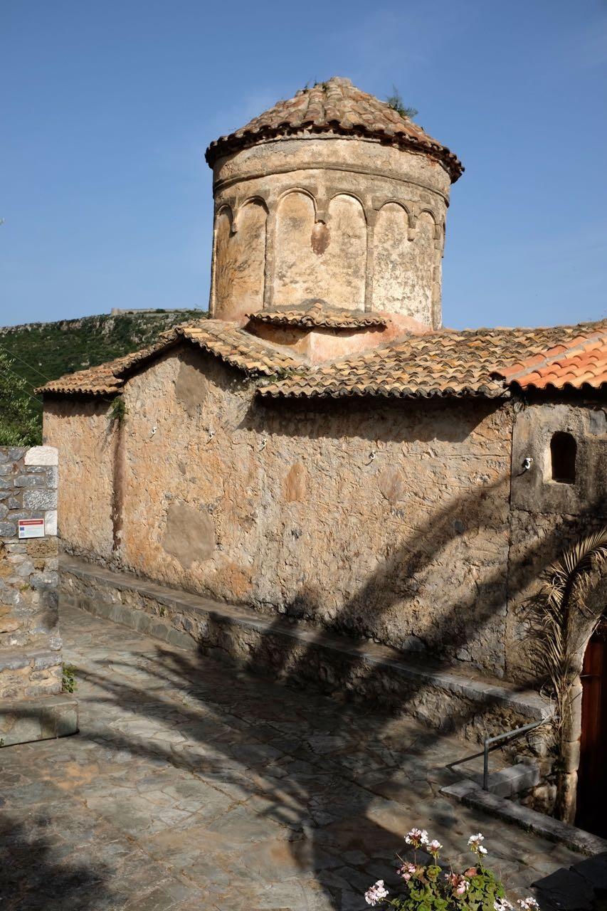 Kloster von Dekoulou mit herrlichen Fresken