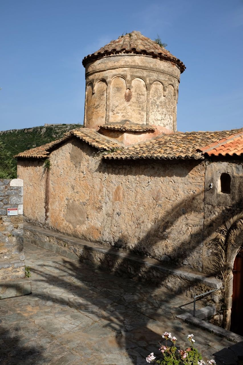 Kloster von Dekoulou mit herrlichen Fresken, Mani Peloponnes