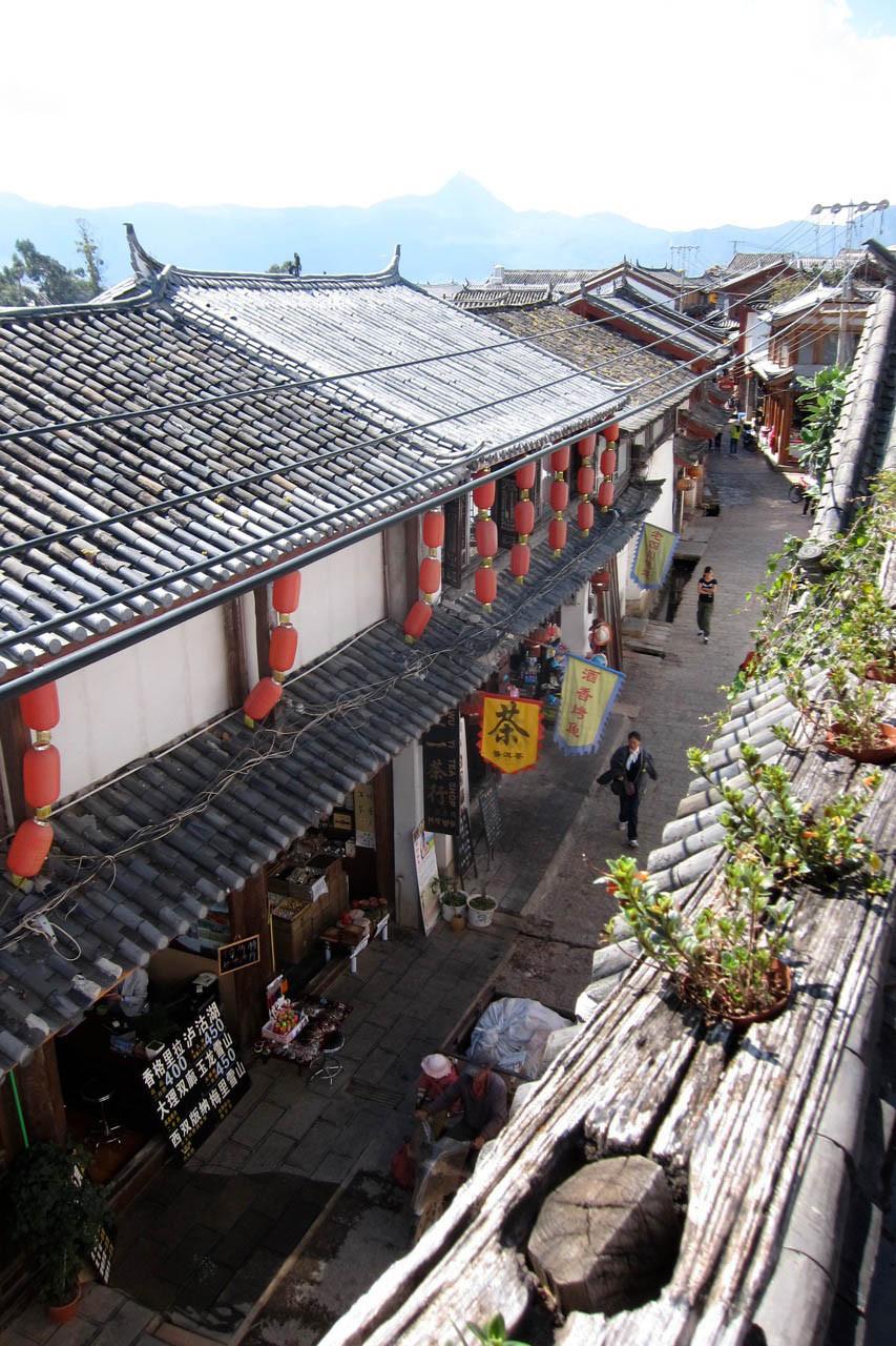 WuYi Street vom Timeless Hostel Lijiang