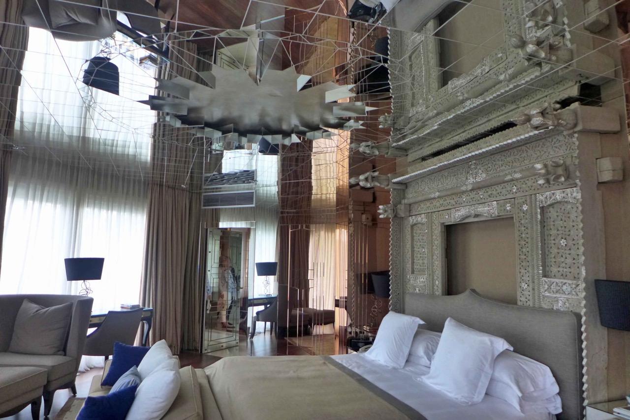 Eins der 6 Schlafzimmer in der Villa del Mar