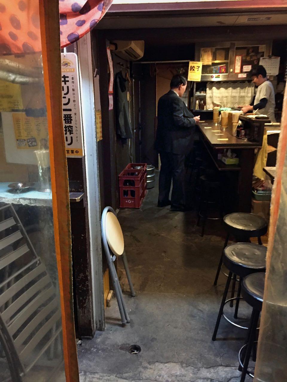 Osakas Standing Bars – Stehkneipen