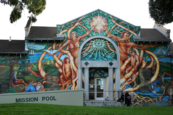 Mural Mission-Pool