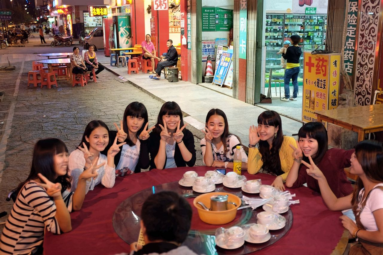 Shanghaier Singles auf Wochenend-Trip in Yangshuo