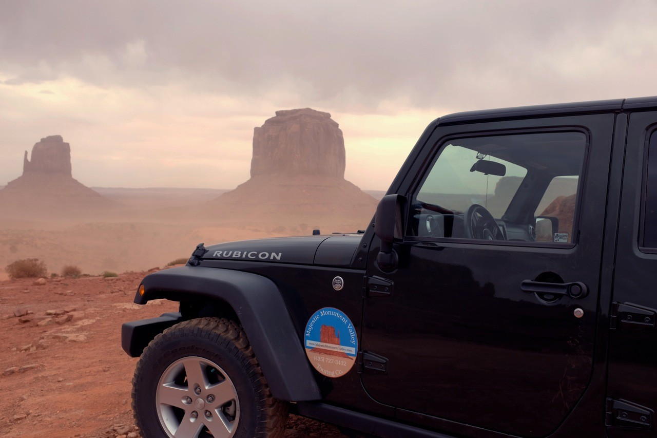 Sunset Drive Monument Valley