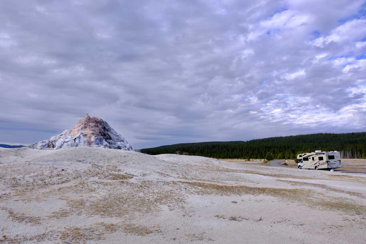 White Dome Geysir