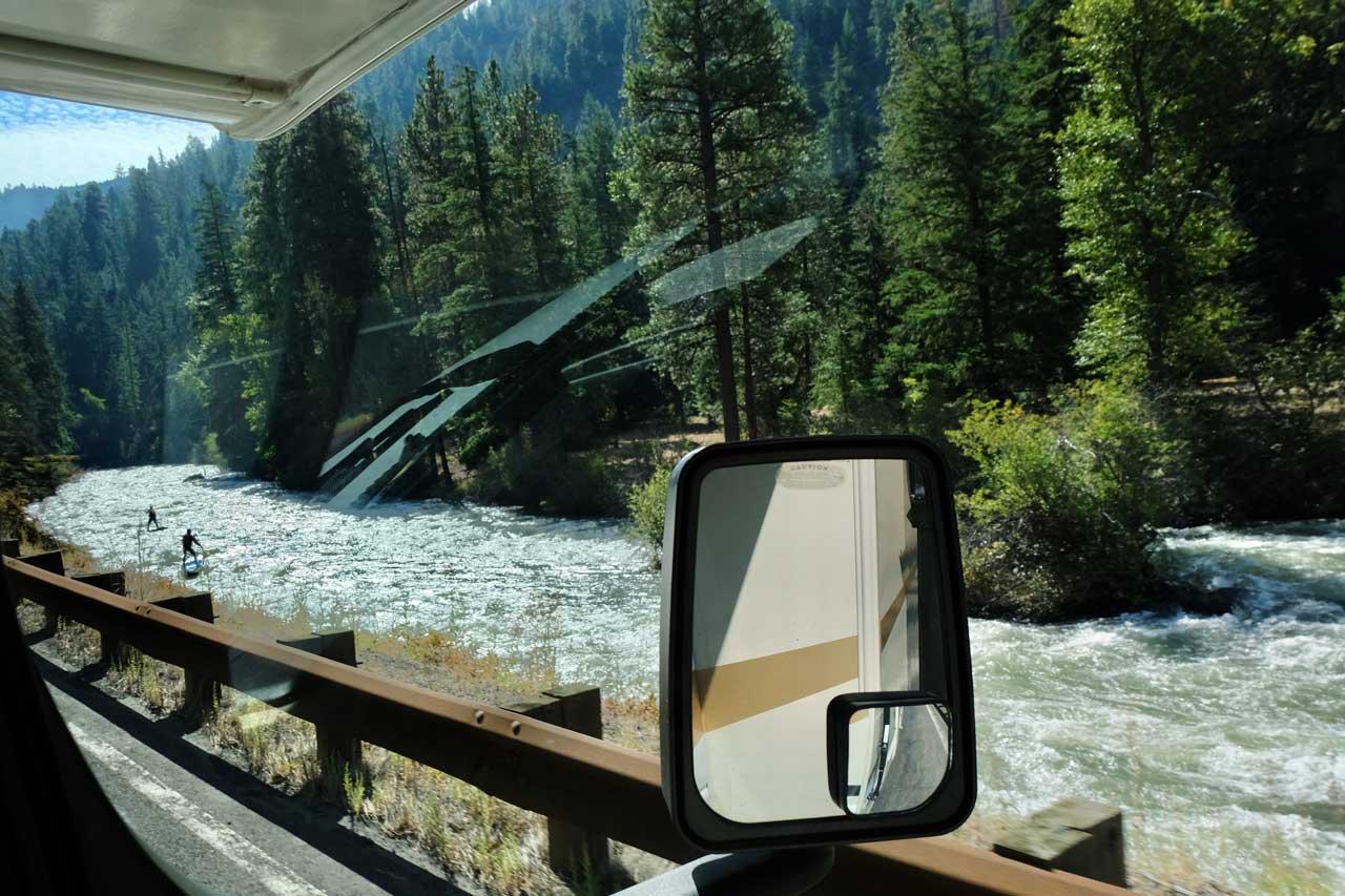SUP Sport im Yakima River