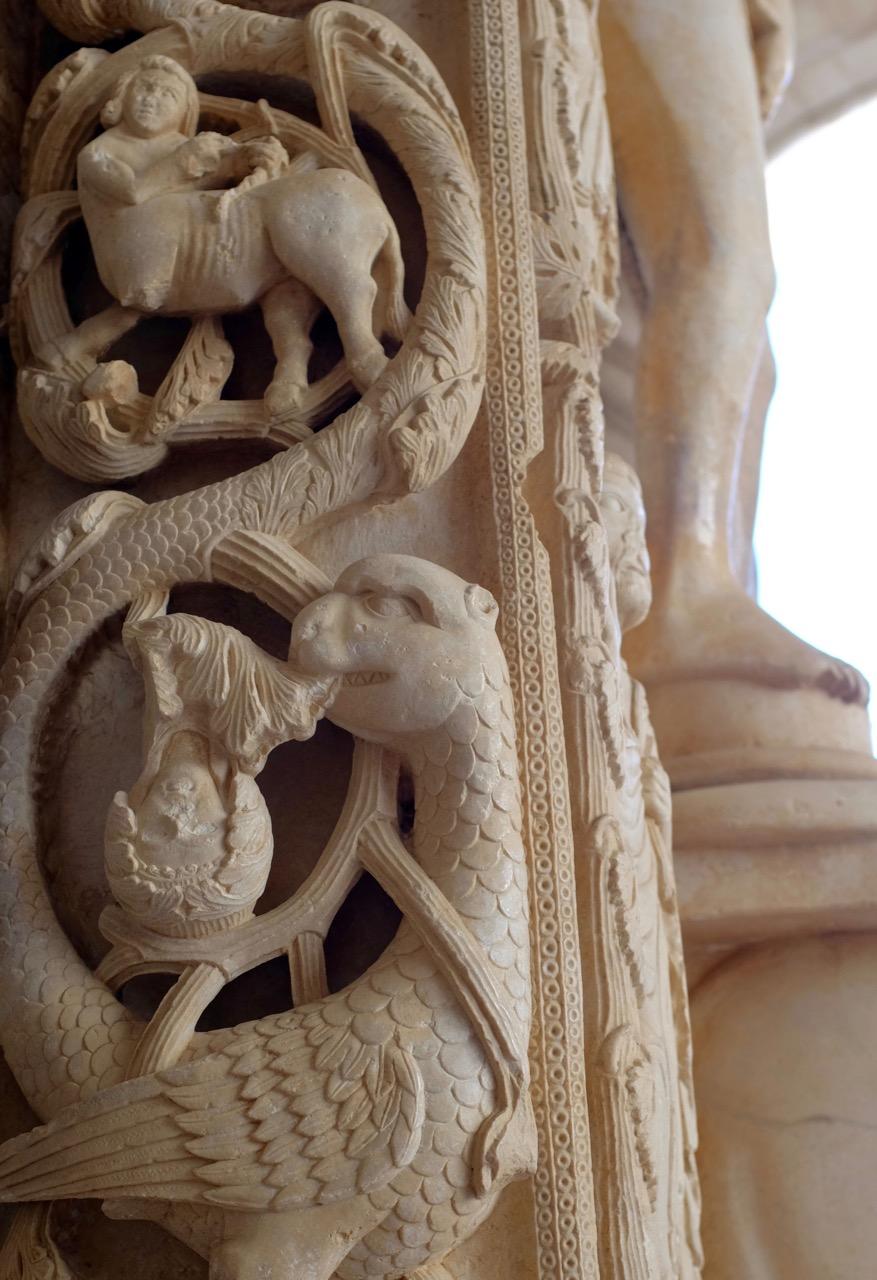 Das meisterliche Westportal von Trogir
