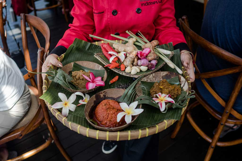 Ubud Food Festival – Lunch with the Queen of Indonesian Cuisine. The View Restaurant Ubud