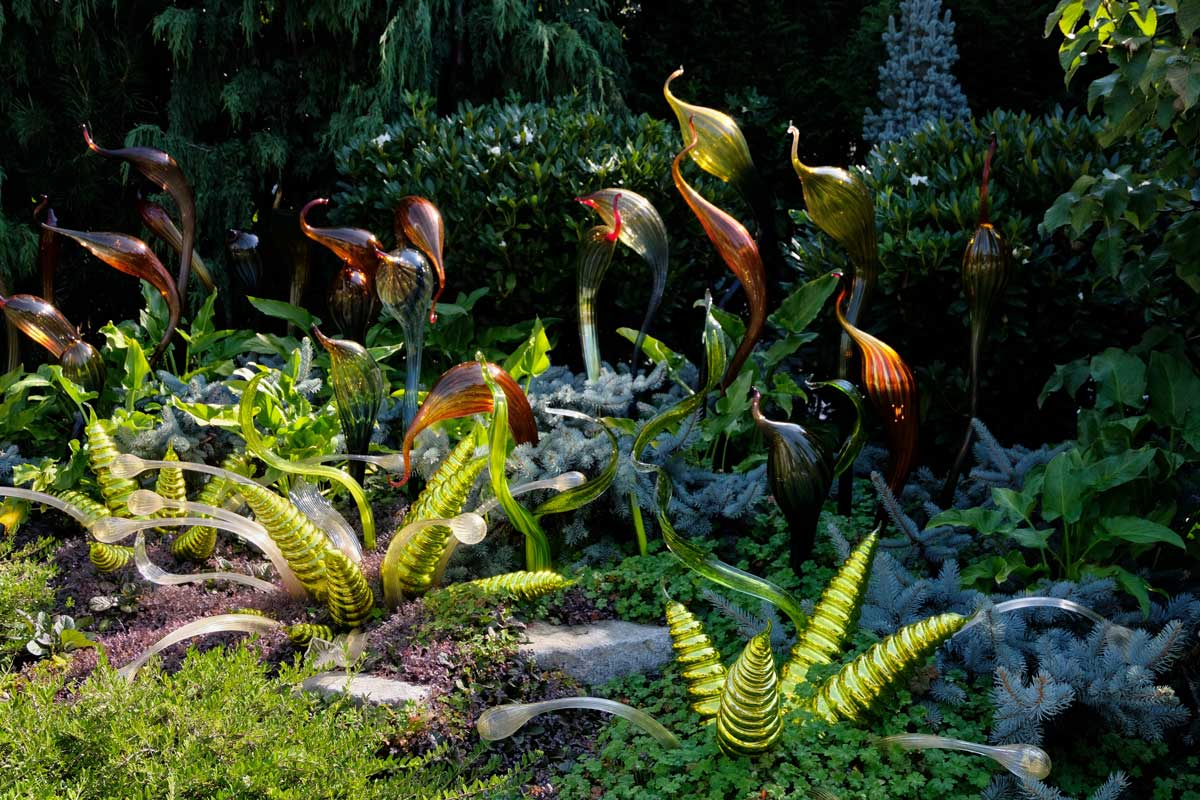 Botanischer Skulpturengarten, Chihuly Garden and Glass Seattle