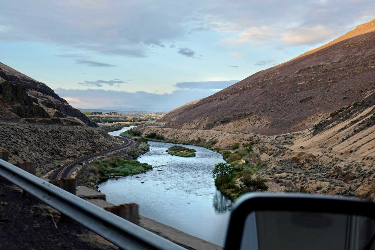 Vom Yakima River Canyon ins Tal